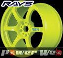RAYS(レイズ) gram LIGHTS 57D (グラムライツ 57D) 18インチ 9.5J PCD:114.3 穴数:5 inset:12 カラー:蛍光イエロー [ホイール1本単位]M