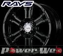 RAYS(レイズ) DAYTONA FDX (デイトナ FDX) 16インチ 6.5J PCD:139.7 穴数:6 inset:38 カラー:セミグロスブラック [ホイール1本単位]M
