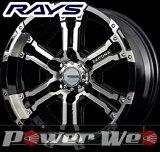 RAYS(レイズ) DAYTONA FDX (デイトナ FDX) 17インチ 8.0J PCD:139.7 穴数:6 inset:20 カラー:ダイヤモンドカット/サイドブラック [ホイール単品4本セ