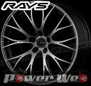 RAYS(レイズ) HOMURA 2x10 RCF (ホムラ ツーバイテン RCF) 19インチ 8.5J PCD:114.3 穴数:5 inset:45 カラー:レイズブラックメタルコート/ダイヤモンドカット/マシニング [ホイール単品4本セット]M
