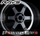RAYS(レイズ) VOLK RACING TE37V MARK-II (ボルクレーシング TE37V マーク2) 18インチ 12.0J PCD:114.3 穴数:5 inset:-20 LLL FACE-1 カラー:ガンメタリック/リムDC [ホイール単品4本セット]M
