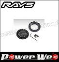 RAYS (レイズ) センターキャップセット 57TRANSCEND スモールリング BK(ブラック/PCD:100用) 4個セット 61025758001BK