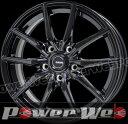 G.speed G02 (Gスピード G-02) メタリックブラック 18インチ 7.5J PCD:114.3 穴数:5 inset:48 HOT STUFF [ホイール単品4本セット]