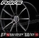 RAYS(レイズ) gram LIGHTS AZURE 57GMA (グラムライツ アズール 57GMA) 18インチ 7.5J PCD:114.3 穴数:5 inset:50 FACE-1 ダイヤモンドカット/サイドブラック/マットブラッククリア [ホイール単品4本セット]