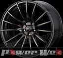 WedsSport SA-15R (ウェッズスポーツ SA15R) 18インチ 10.5J PCD:114.3 穴数:5 inset:12 ガンメタリックブラッククリアー Weds [ホイール単品4本セット]
