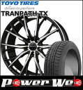 225/60R17 99Q WINTER TRANPATH TX/トーヨー ■Stich LEGZAS FUHLER 17×7.0 114....