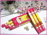 【一起购买实惠!】印度的香味!HEM制造草莓香味1箱6筒【印度香味】【香】【附着方式】【进入Hexa包6个】[【まとめ買いがお得!】インドのお香♪HEM社製ストロベリー香1箱 6筒入り【インド香】【インセンス】【スティ