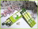 インドのお香♪HEM社製グリーンアップル香1箱 6筒入り【インド香】【インセンス】【スティックタイプ】【Hexaパック6本入り】