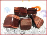 天然石パワーストーンタンブル【レッドタイガーアイ(赤虎目石)】【一般】Sサイズシャットヤンシーの美しい石です。金運+試験運や名誉運、出世運をUPさせるとされます?【50%OFF!】天然石パワーストーン