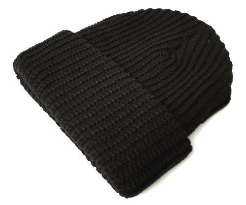 New York Hat(ニューヨークハット) ニットキャップ #4648 CHUNKY, Brown