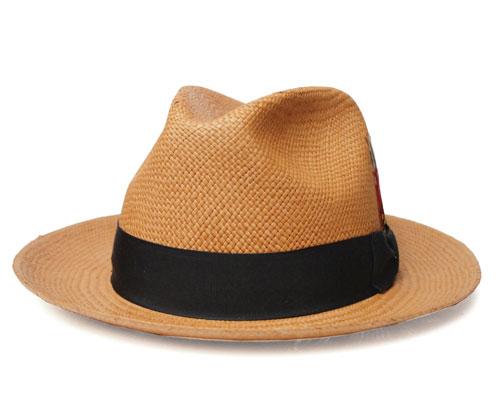 ニューヨークハット 帽子 ストローハット 中折...の紹介画像2