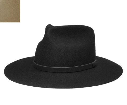 New York Hat ニューヨークハット #5322 Jesse ジェシー BLACK PUTTY 帽子 ハット 紳士 メンズ レディース 男女兼用