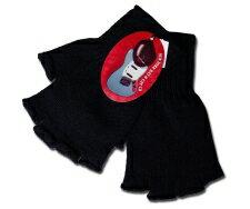 NewYorkHat(ニューヨークハット)グローブ(手袋)#4952 WOOL CUTOFF GLOVES, Black