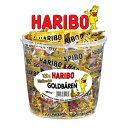 HARIBO ハリボー ミニ ゴールドベア ドラム 980g おやつ グミ キャンディー Gold Baren 濃縮還元果汁 個包装 100袋 6種類 フルーツ...