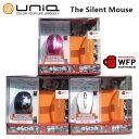 UNIQ サイレント マウス ワイヤレス 2.4GHz PC ユニーク The Silent Mouse Windows 8.1 対応 Mac対応 WFP M612GB M612GP M612GW パソコン アクセサリー 【smtb-ms】0578505