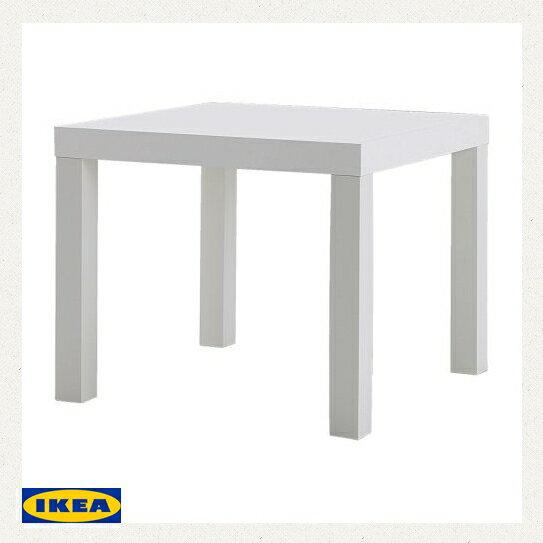 IKEA LACK サイドテーブル ホワイトテーブル コーヒーテーブル ラックコーナーテーブル ラックテーブルcoffee table side table square table corner standing table00193664の写真