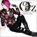 【Oz select】Crash zip skinny pants†V系 パンツ スキニー クラッシュ デニム スキニーパンツ ファッション ヴィジュアル系 メ...