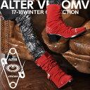 【ALTER VENOMV オルターベノム】Insanity BOOTS†ブーツ スタッズ ヒールブーツ 靴 フェイク スエード スウェード レッド ドレープブーツ V系 ファッション ヴィジュアル系 メンズ ビジュアル系 ロック ROCK パンク モード系 派手 個性的 個性派 Oz オズ