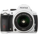 【中古】【1年保証】【美品】 PENTAX K-50 DAL レンズキット ホワイト