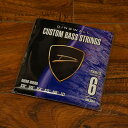DINGWALL 《ディングウォル》CUSTOM BASS STRINGS [STAINLESS 6ST] SET ROUND-WOUND .030-.127【PB】