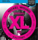 D'Addario 《ダダリオ》EXL170BT Balanced Tension Nickel Wound Electric Bass Strings (Regular Light)