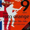 ROTO SOUND 《ロトサウンド》Electric Guitar Strings RH9 Roto Orange - Hybrid