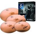 Zildjian/S 《ジルジャン》 S Performer Cymbal Set NAZLS390 / Master Sound HiHat 14 pr Medium Thin Crash 16 18 Medium Ride 20