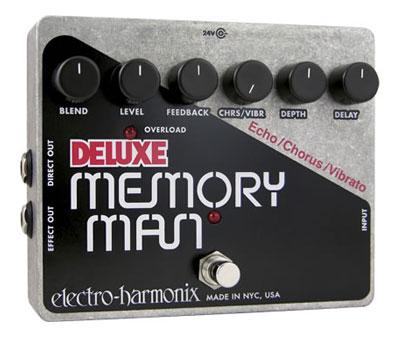 Electro Harmonix 《エレクトロ・ハーモニクス》Deluxe Memory Man 【台数限定特価】 台数限定特価