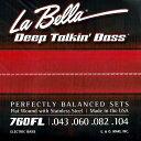La Bella 《ラベラ》 【760FL】 Flat Wound Stainless Steel Bass Strings