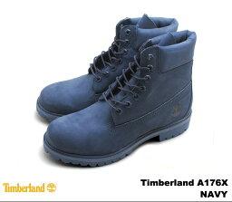ティンバーランド ブーツ メンズ 6インチ プレミアムブーツ ネイビー Timberland A176X 6INCH PREMIUM BOOT NAVY MONO