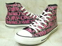 2010 S/S NEW MODEL!!CONVERSE ALL STAR NEOGRA HI BLACK/PINK 【コンバース オールスター ネオグラ HI】