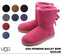 アグ オーストラリア ウィメンズ ベイリーボウ UGG Australia WOMENS BAILEY BOW 1002954 BLK CHE CHO GREY...