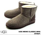 アグ オーストラリア クラシック ミニ ツイード スタウト UGG Australia MENS CLASSIC MINI TWEED 1005559 STOUT メンズ ムートンブーツ シープスキン