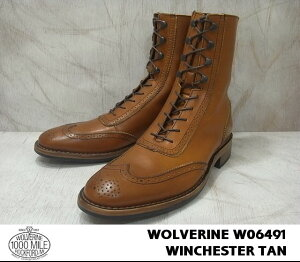 ����������1000�ޥ���֡���WOLVERINE1000MILEBOOTWINCHESTERBROGUEBOOT����/TANW06491������̵����