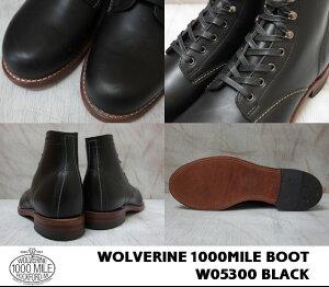 WOLVERINE1000MILEBOOT/W05300HORWEENBLACK�ڥ���������1000�ޥ���֡��ĥۡ��������