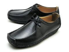 クラークス ナタリー メンズ ブラックスムースレザー Clarks NATALIE 26109037 BLACK SMOOTH LEATHER UK規格 ブーツ