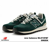�˥塼�Х�� 574 ����ݥ� new balance ML574 FBF GREEN newbalance ML574FBF ��� ��ǥ����� ���ˡ����� ����̵��