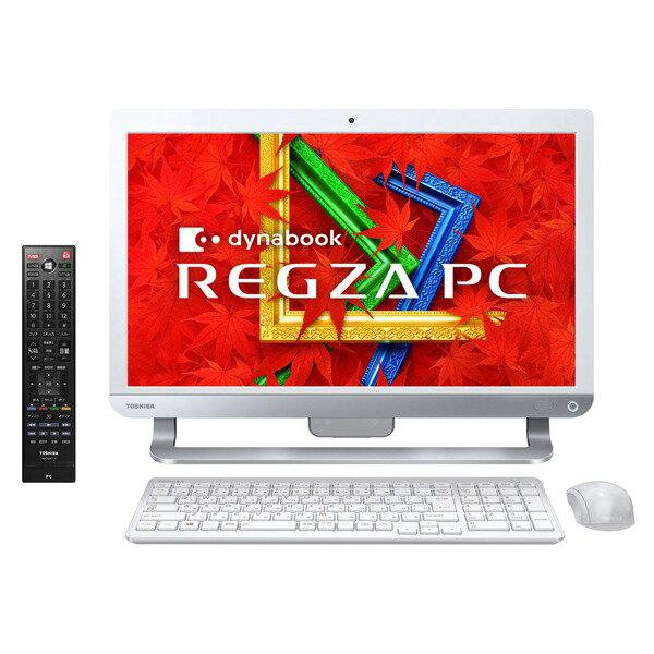 【送料無料】東芝 PD713T3KSXW リュクスホワイト dynabook REGZA PC[デスクトップパソコン 21.5型...