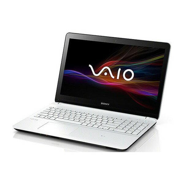 【送料無料】SONY SVF15317DJW ホワイト VAIO Fit 15E [ノートパソコン 15.5型ワイド液晶 HDD1TB D...