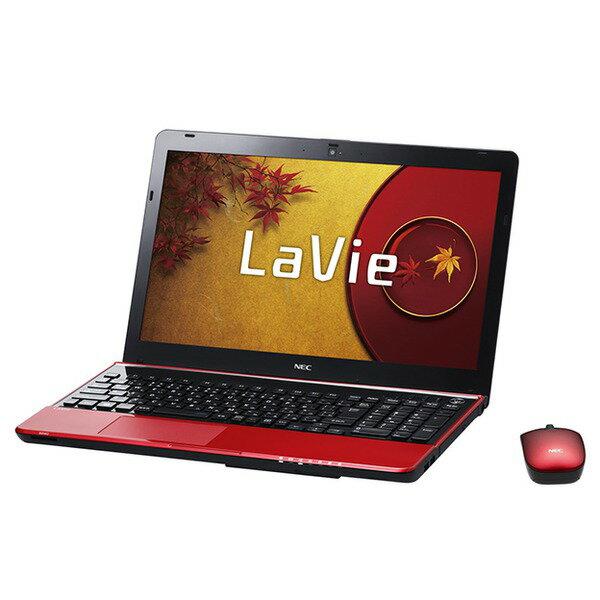 【送料無料】NEC PC-LS150NSR ルミナスレッド LaVie S LS150/NSR [ノートパソコン 15.6型ワイド液...