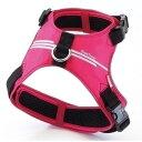 ヤマヒサ ペティオ スタイルトレーナー スマートラインソフトハーネス ピンク Lサイズ [犬用お出かけ用品]
