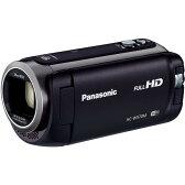 【送料無料】パナソニック (PANASONIC) ビデオカメラ 小型 デジタルハイビジョンカメラ フルハイビジョン(フルHD)内蔵メモリー 32GB ブラック HC-W570M-K