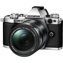 OLYMPUS - 【送料無料】OLYMPUS E-M5 Mark2・14-150mm 2レンズキット シルバー [デジタル一眼カメラ(1605万画素)]