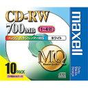maxell CDRW80PW.S1P10S MQシリーズ [データ用CD-RW(700MB・4倍速・10枚入)]【同梱配送不可】【代引き不可】【沖縄・北海道・離島配送不可】