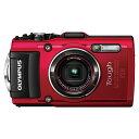 【送料無料】OLYMPUS(オリンパス) TG-4-RED レッド STYLUS TG-4 Tough [コンパクトデジタルカメラ(1600万画素)]