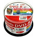 磁気研究所 HDDR12JCP50 HI DISC [DVD-R 4.7GB 16倍速 50枚組]