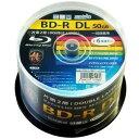 【送料無料】磁気研究所 HDBDRDL260RP50 HI DISC [BD-R DL 50GB 6倍速 50枚組]