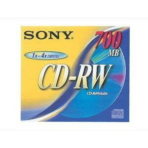SONY CDRW700D [700MB(4倍速対応)]【同梱配送不可】【代引き不可】【沖縄・離島配送不可】