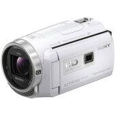 【送料無料】SONY HDR-PJ675-W ホワイト Handycam(ハンディカム) [デジタルHDビデオカメラレコーダー]