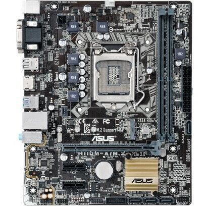 【送料無料】ASUS H110M-A/M.2 [Intel H110搭載 LGA1151 マザーボード]